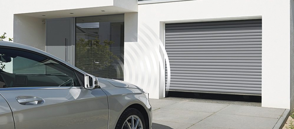 Domotique sur les portes de garage